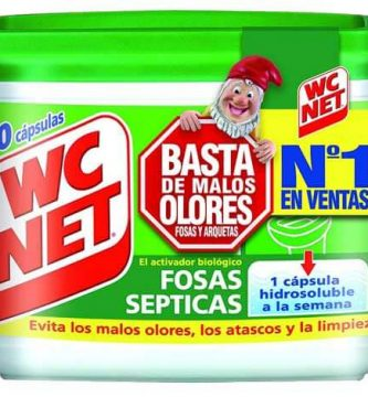 WC NET MALOS OLORES FOSA SEPTICA